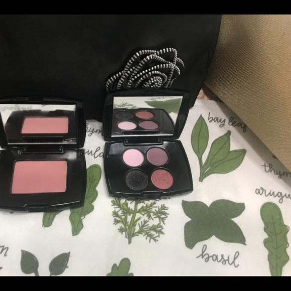 Lancome Other - LANCÔME eyeshadow and blush set with bag choice.